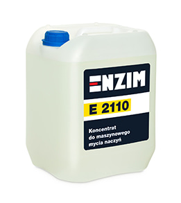 E2110 - Koncentrat do maszynowego mycia naczyń 10L