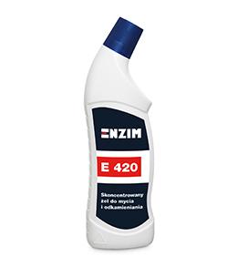 E420 - Skoncentrowany żel do mycia i odkamieniania 0,7L