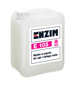 E105 - Mydło w płynie do rąk i całego ciała na bazie oleju kokosowego 5L
