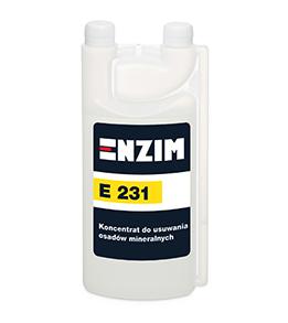 E231 - Koncentrat do usuwania osadów mineralnych 1L
