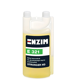 E321 - Silny koncentrat do gruntownego mycia powierzchni STRONGER HD 1L