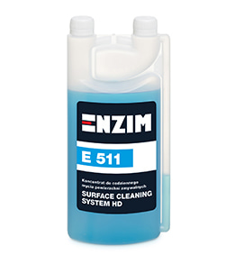 E511 - Koncentrat do codziennego mycia powierzchni Surface Cleaning System 1L
