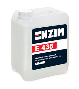 E435 - Skoncentrowany preparat do gruntownego czyszczenia fug SHARK 5L